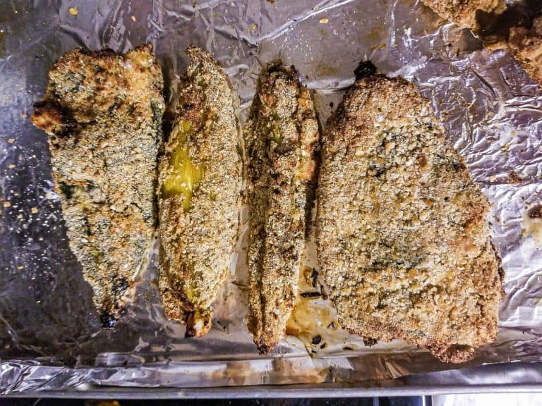 Chile Rellenos with Breading