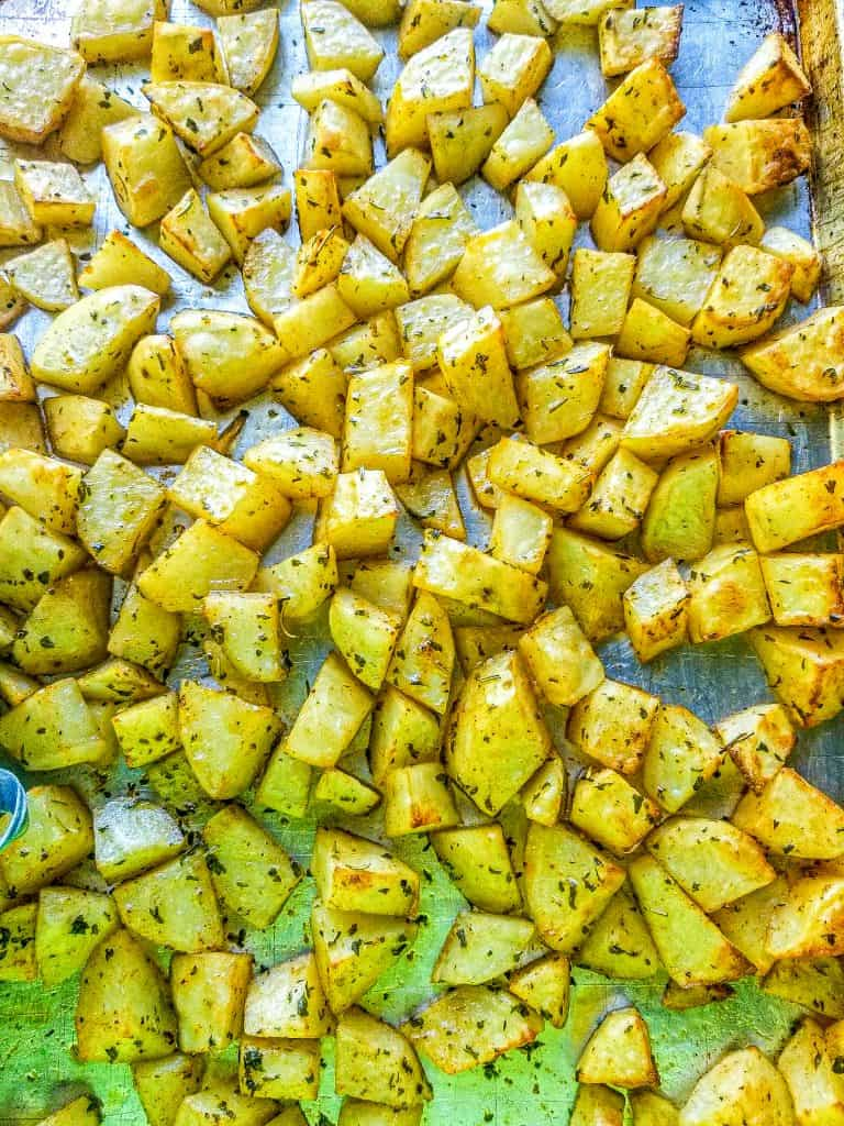 Baked Breakfast Potatoes-Roasted Potatoes
