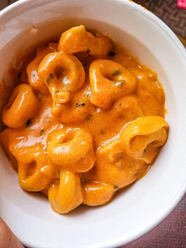 Campbell's Tomato Soup with Tortellini