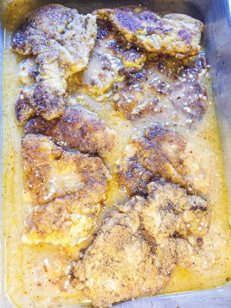 Chicken Francese without Wine