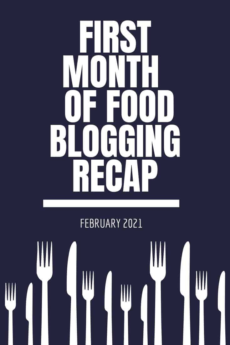 First Month of Blogging Recap