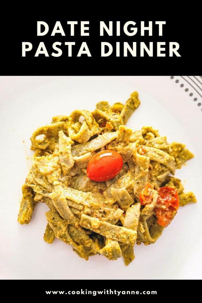 Date Night Pasta Dinner pin