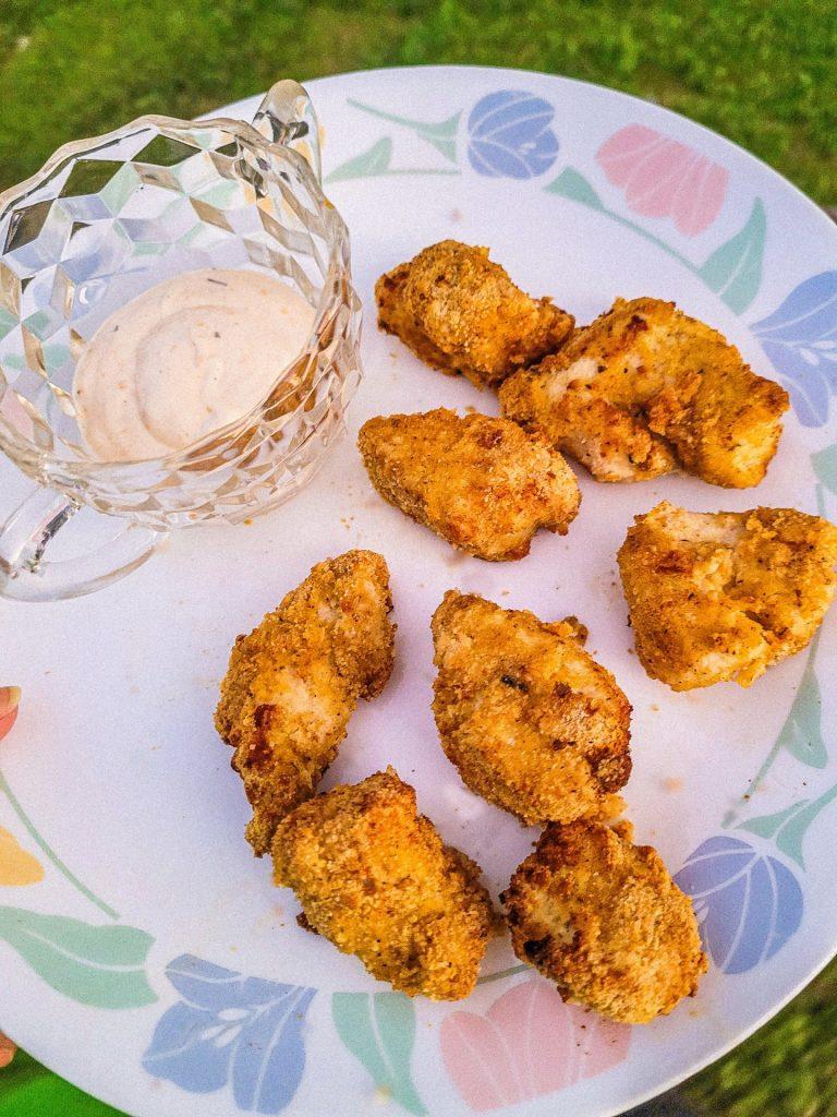 chicken nuggets in air fryer